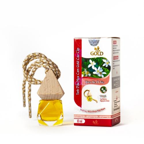 Tinh Dầu Hoa Cam Gold Cao Cấp (Treo Xe Ô Tô)