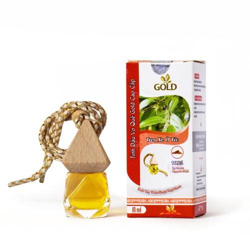 Tinh Dầu Vỏ Quế Gold Cao Cấp (Treo Xe Ô Tô)