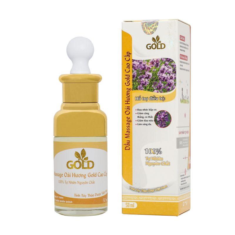 Dầu Massage Oải Hương Gold Cao Cấp